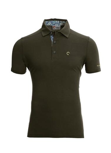 Panthzer  Tofino Erkek Polo Yaka T-Shirt Haki
